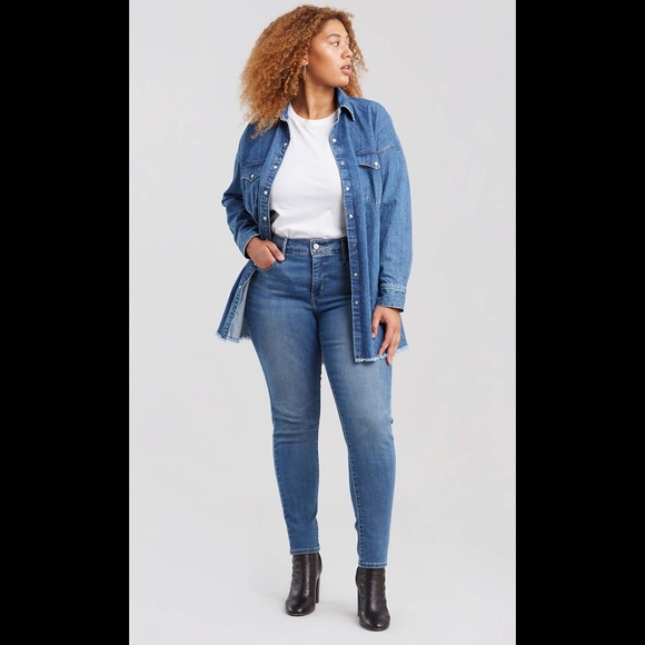Levi's Denim - Levis 310 Shaping Super Skinny Light Wash Jeans